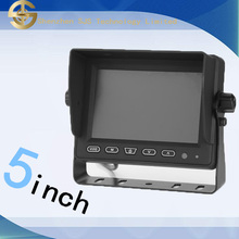 5 inch TFT Led car sun visor tv monitor 24 v for golf 4 support rear view car camera SJ-506