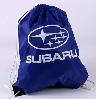 Factory Custom promotion waterproof nylon polyester drawstring backpack