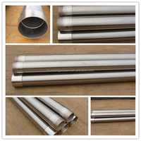 profile wire screen/Johnson type water filter for water well drilling pipe
