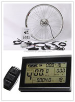250w electric bike conversion kit with LCD display/geared hub motor kit / diy electric bike kits