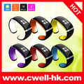 OLED sport bluetooth vibrating bracelet with pedometer