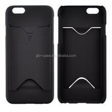 Card Slot Hard Back Case Cover for iPhone 6