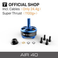 T-Motor AIR40 KV2450 Blue/Pink/Purple Color Mini Brushless FPV Racing Motor For Beginner Pilot RC Aircarft Planes Drones Lovers