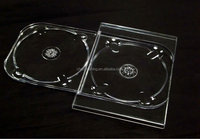 High quality good materials China export low price plastic clear dvd cd digi tray