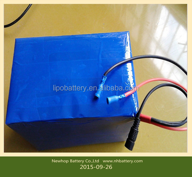 2015 hot sale high power and large capacity power type electric vehicle 48V30AH lithium battery pack
