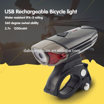 NEW 2017 Best Selling New Products Bicycle Accessories/Night Riding Rechargeable USB Front Bike Light