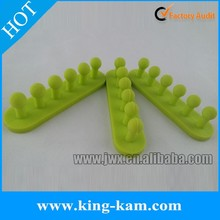 Electrical wire cable holder clip silicone cable organizer for desktop