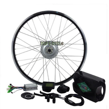 TOP 36V 350W brushless hub motor ebike kit with LCD Display