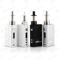 Box vaporizer mod kamry 60 tc high-end zinc alloy magnetic back cover with slot lock
