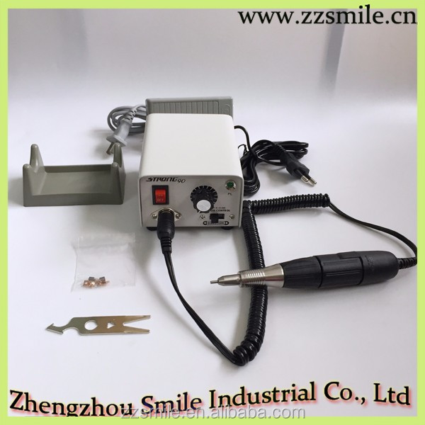 2017 Hot Sale CE Approved Dental Strong 90 Micro Motor with Durable 102 Handpiece/Carving Machine