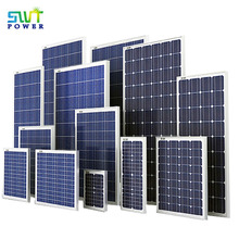 Monocrystalline or Polycrystalline Silicon Solar Panels with Wholesale Price Suit For All Solar Power System 20W to 300W