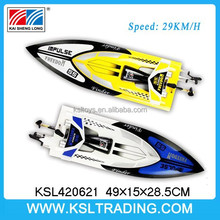 hot new China plastic rc ship, 2.4g 4ch rc motor yachts 29KM/H