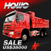 howo 6X4 japan hino used dump trucks