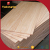 rubber wood finger joint board for hanger