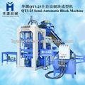 High quality QT3-25 type hydraulic paving tiles machine
