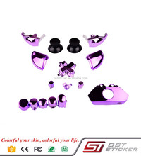 Chrome colorful thumbsticks Dpad Triggers Buttons Mod Kit for Microsoft Xbox One 1controller full parts