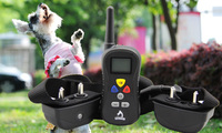 2015 Pet remote educational device waterproof patented design dog trainer PTS008