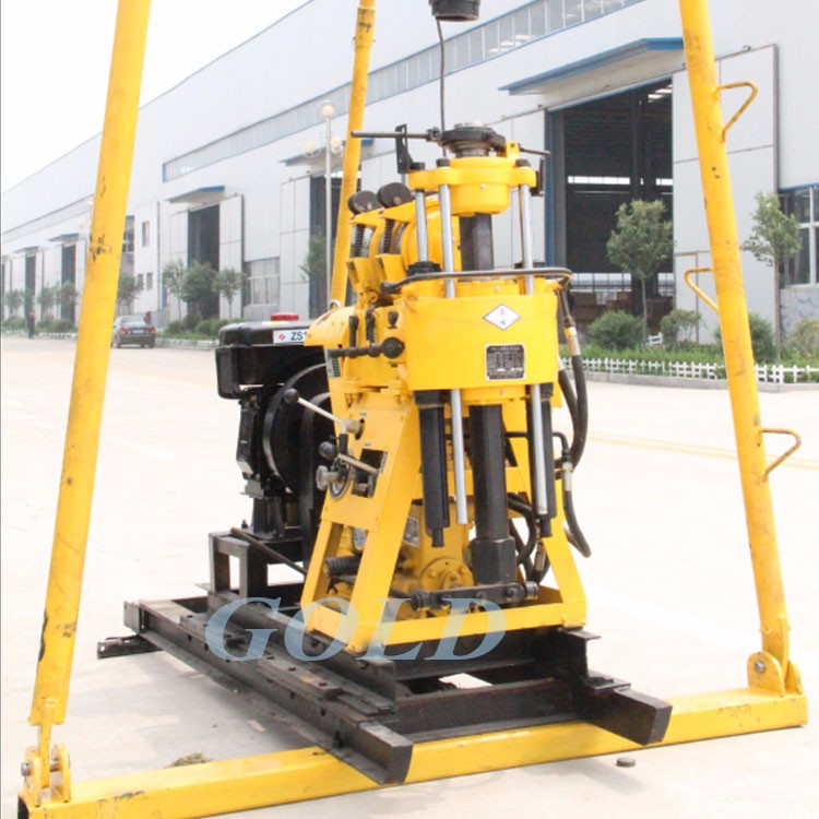 2017 Hot Selling Portable Hydraulic High Speed Core Drilling Rig and Water Well Drilling Rig