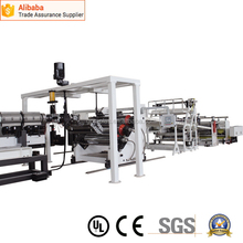 Alibaba china hot selling pet mono-layer sheet extrusion line