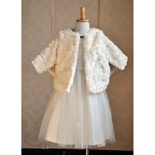 Fashion Design Fur Cute Mode Baby Cloak, Cape Coat Cloak kids winter coats