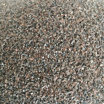 top quality brown corundum 120# for sand blasting and Industrial cleaning