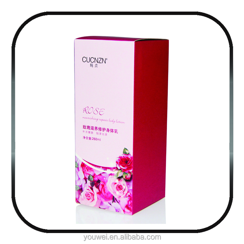 Custom Skin care paper packaging Box from skin packaging supplies
