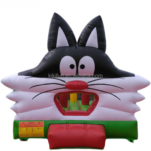 PVC inflatable jumping bounce castle for kids / outdoor children events air bouncer inflatable trampoline for rental & sale