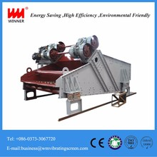 Wet sand dewatering machine,linear dewater vibrating screen,desliming machine