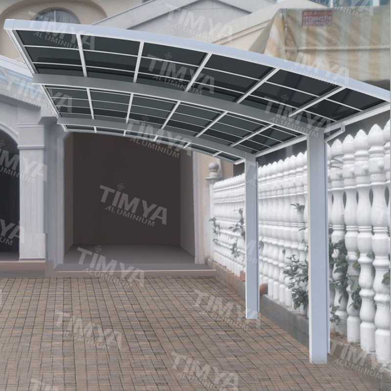 2016 aluminum high design garage sun shed carport