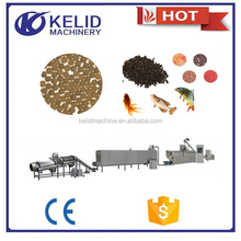 high capacity best price extruded twin screw fish feed processing line