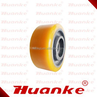 High quality Auxiliary PU Wheel for Hangcha Electric forklift (130*55mm)