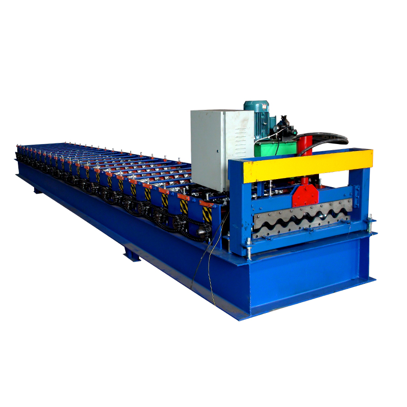hebei xinnuo corrugated iron roofing sheet making machine