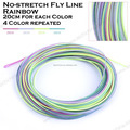 Weight forward floating no stretch fly fishing line