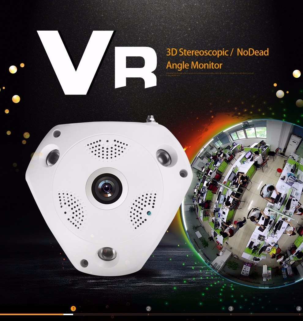 New products competitive wifi security ip camera support 128G SD/TF card