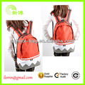 Fashion elegant canvas backpacks for girls