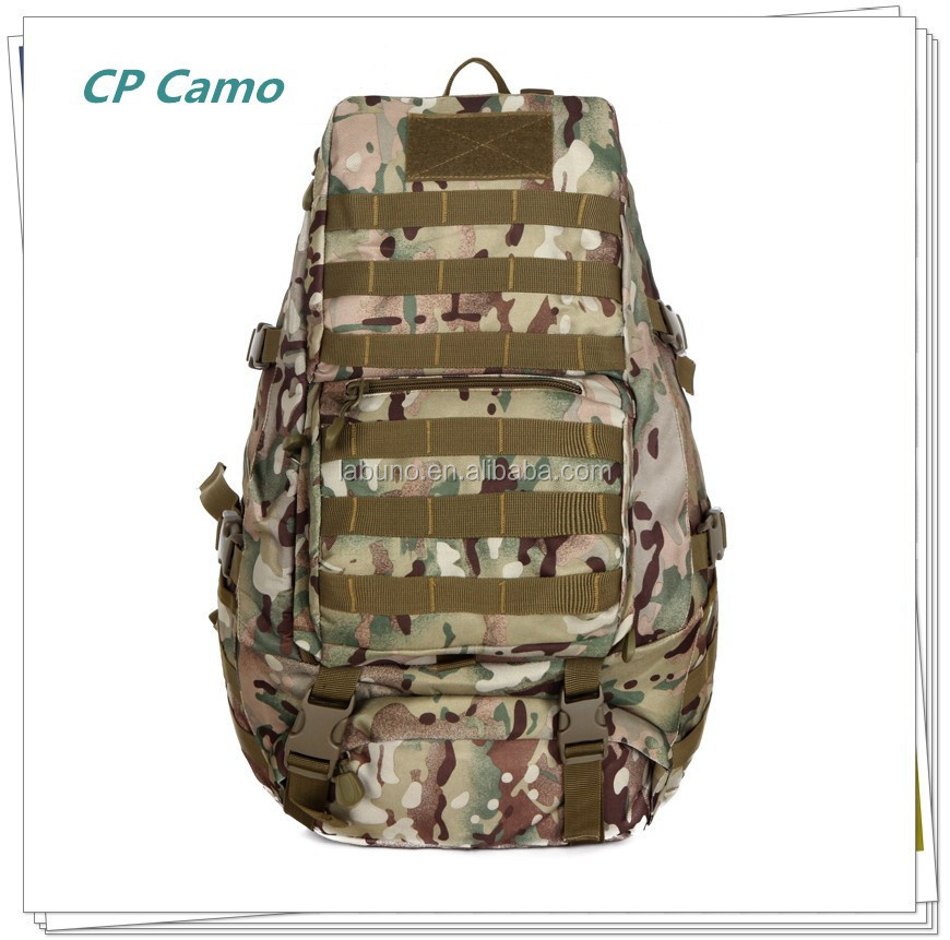 High-capacity mountaineering bag hiking knapsack Travel camouflage backpack