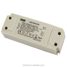 CE LED strip power supply led non-flick dimmable driver transformer 500mA 20W
