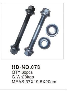 HD-NO.078 12 inch bike hub axle