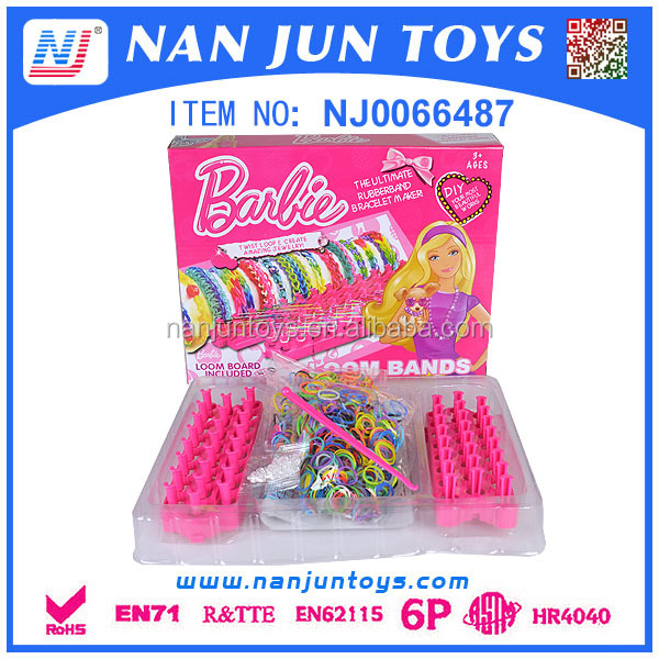 Cheap fun silicone loops rainbow Bracelets loom Bands/mini rubber bands for bracelets