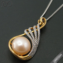 Latest design mother necklace pearl