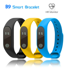 Smart bracelet health device, heart rate monitor fitness tracker smart watch band