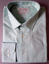 OEM cotton solid color slim fit men long sleeve dress shirt