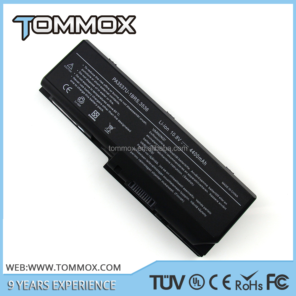 long lasting best laptop battery for Toshiba 10.80 V