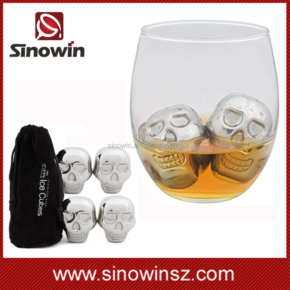 Best cooler skull stainless whisky stones for wine