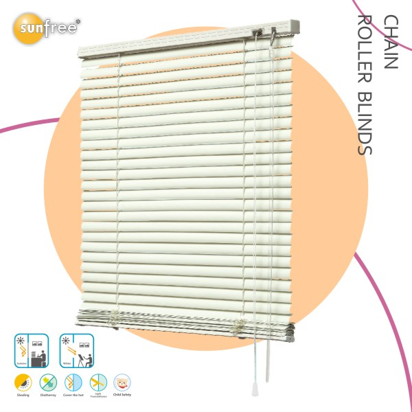China supplier motorized venetian faux wood blinds wooden window blind sun shading