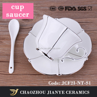 JIANYE CERAMICS 200 ML fine bone China Espresso Cup Set