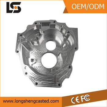 OEM Precision CNC Milling Aluminum Motorcycle Cover Parts