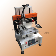 tabletop automatic solder paste screen printing machine semi auto screen printing machine