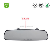 170 degree Car DVR dual camera Car dvrs 1080P Video Recorder Rearview Mirror With Rear view Automobile DVR Mirror Dash cam