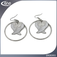 2016 fall series bird shaped gold jewelry earring design